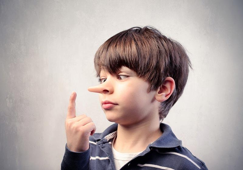 حل عادت دروغگویی در کودکان